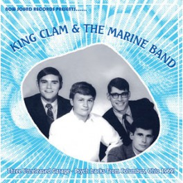 "7"" KING CLAM & The Marine Band"