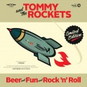 LP TOMMY & The ROCKETS: Beer, Fun And Rock'n'Roll (black)