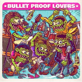 "7"" BULLET PROOF LOVERS (black)"