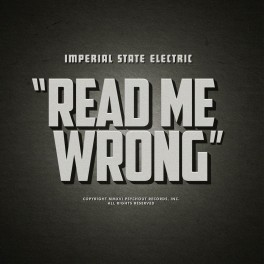 "12"" IMPERIAL STATE ELECTRIC: Read Me Wrong"