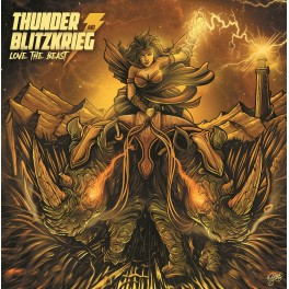 LP THUNDER & BLITZKRIEG: Love The Beast (yellow) *PRE-ORDER*