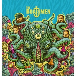 LP The BOATSMEN: Thirst Album (black) *PRE-ORDER*