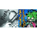"Split 7"" ELECTRIC FRANKENSTEIN / KLOBBER (Black) *PRE-ORDER*"