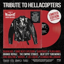 LP VV.AA. Tribute To The HELLACOPTERS: Payin' Our Dues (Red) *PRE-ORDER*