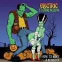 LP ELECTRIC FRANKENSTEIN: How To Make A Monster (black, green & white mix)