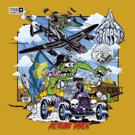 LP The DRIPPERS: Action Rock (black)