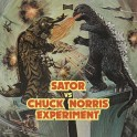 "Split 7"" SATOR / The CHUCK NORRIS EXPERIMENT (black)"