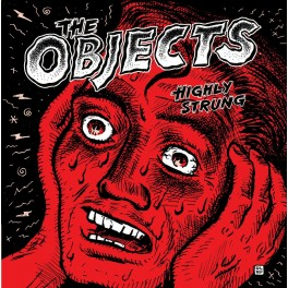 """7"""" The OBJECTS: Highly Strung (black) *Pre-Order*"""
