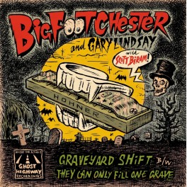 "7"" BIG FOOT CHESTER (black) *Pre-Order*"