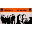 "Split 7"" The ROYAL CREAM - The VOLCANICS (black)"